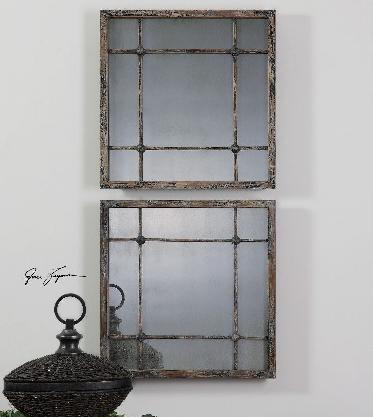 Saragano Square Mirrors Set/2 - taylor ray decor