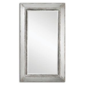 Lucanus Oversized Silver Mirror - taylor ray decor