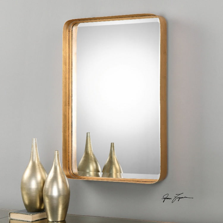 Crofton Antique Gold Mirror - taylor ray decor