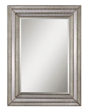 Seymour Antique Silver Mirror
