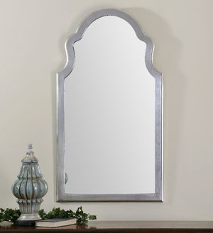 Brayden Arched Silver Mirror - taylor ray decor