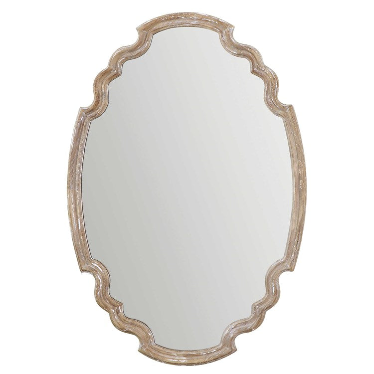 Ludovica Aged Wood Mirror - taylor ray decor