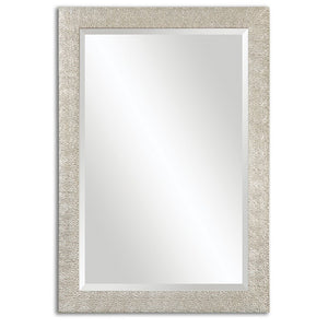 Porcius Antiqued Silver Mirror - taylor ray decor