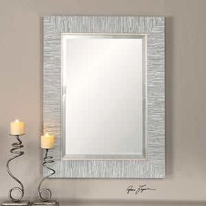 Belaya Gray Wood Mirror