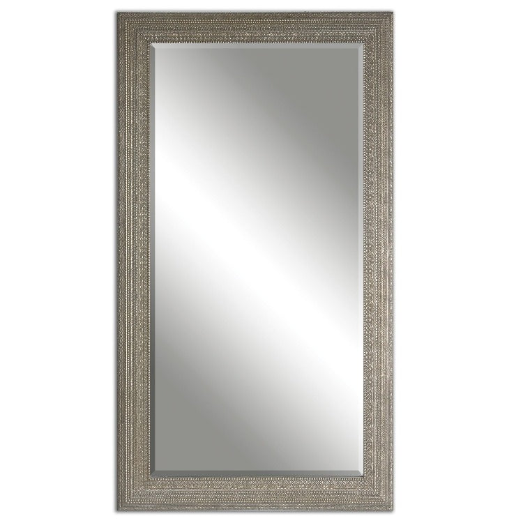 Malika Antique Silver Mirror
