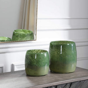 Matcha Vases, S/2 - taylor ray decor