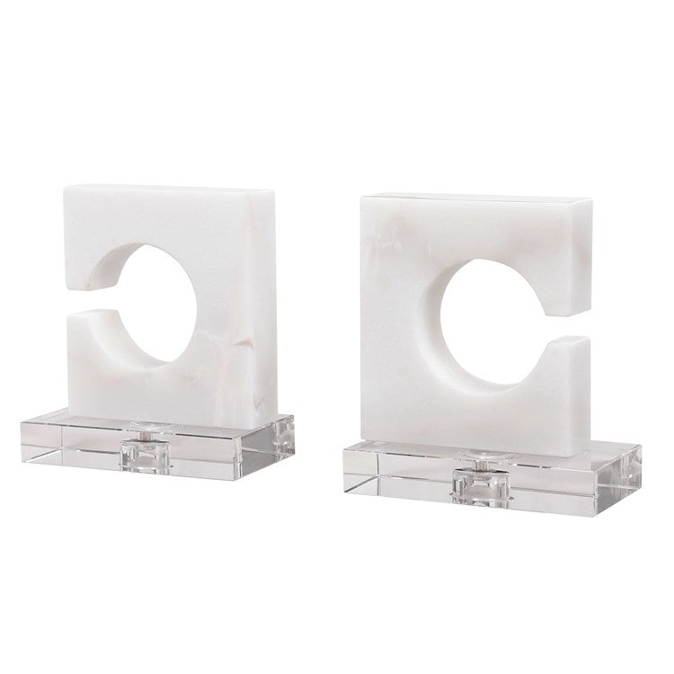 Clarin Bookends, S/2 - taylor ray decor