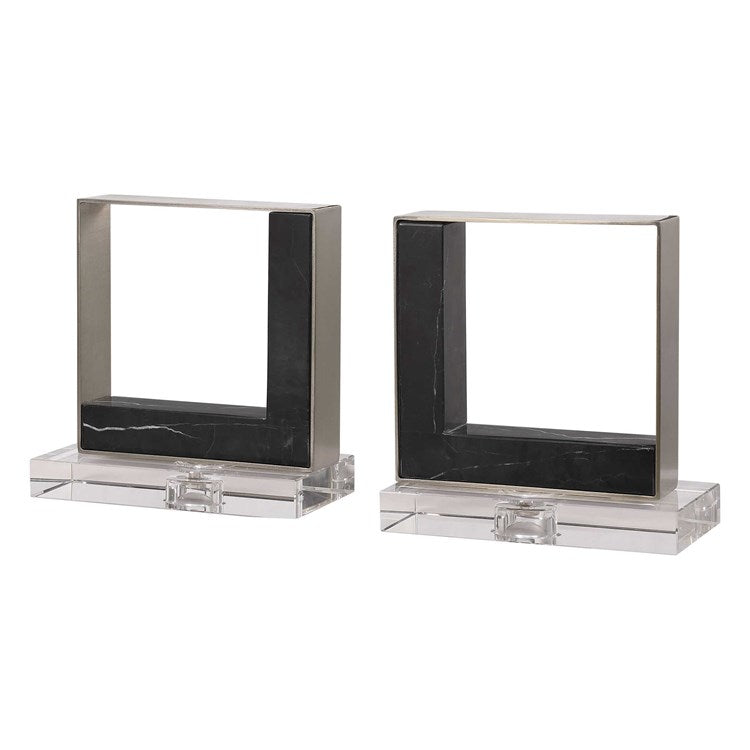 Tilman Bookends, S/2 - taylor ray decor