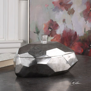 Minta Silver Box - taylor ray decor