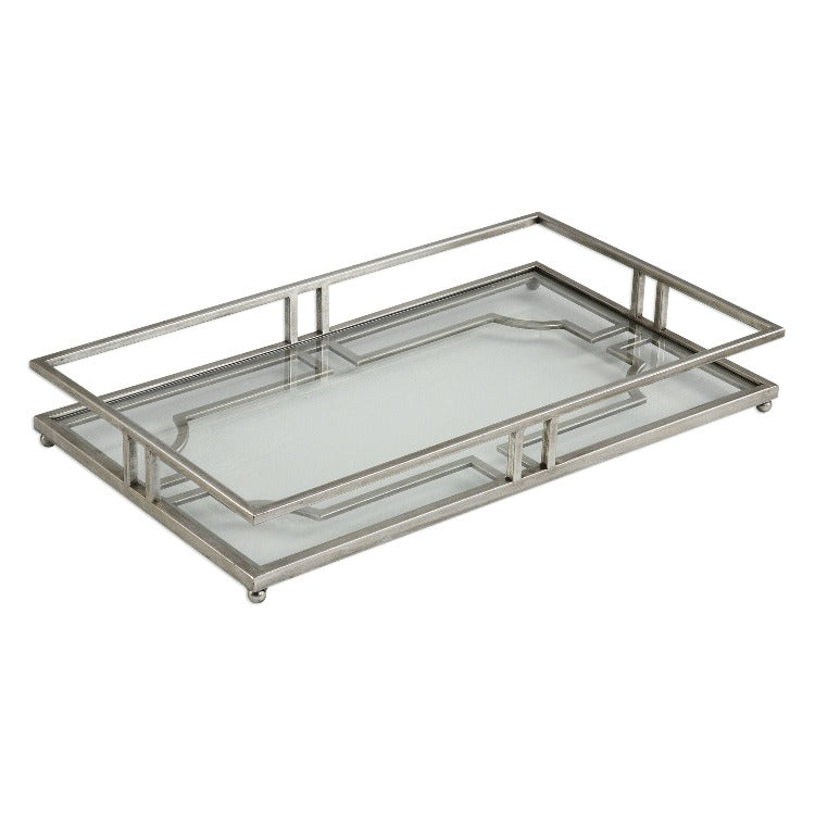 Rafaela Silver Tray - taylor ray decor