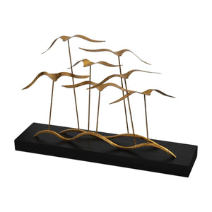 Flock Of Seagulls Sculpture - taylor ray decor