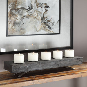 Callum Wooden Candleholder - taylor ray decor
