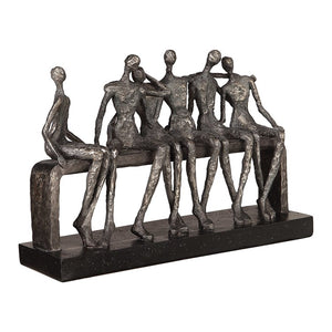 Camaraderie Figurine - taylor ray decor