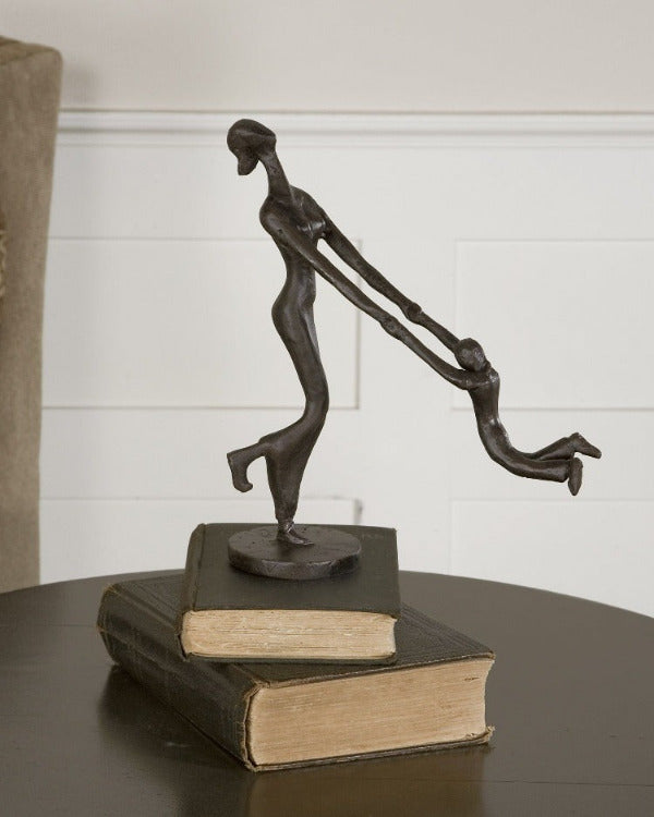 At Play Mother & Child Sculpture - taylor ray decor