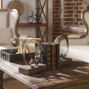 Lounging Reader Antique Bookends Set/2 - taylor ray decor