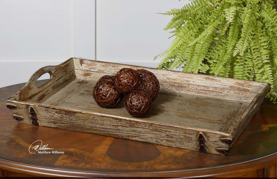 Abila Wooden Tray - taylor ray decor