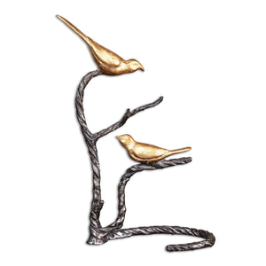 Birds On A Limb Sculpture - taylor ray decor