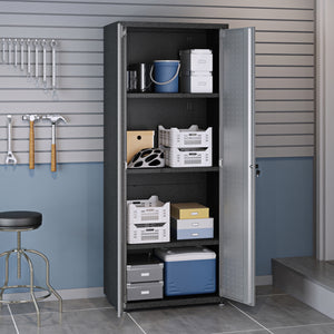 "Fortress 74.8"" Tall Garage Cabinet"