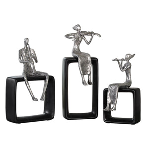 Musical Ensemble Statues, S/3