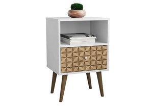 Liberty Mid-Century Modern Cubby Nightstand 1.0 - taylor ray decor