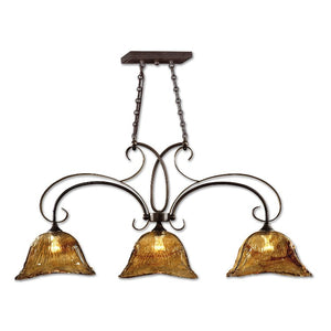 Vetraio 3 Lt Bronze Kitchen Island Light - taylor ray decor