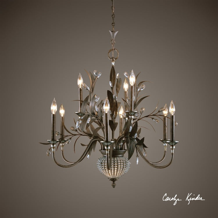Cristal De Lisbon 9+2 Light Chandelier - taylor ray decor
