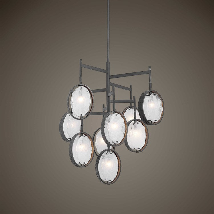 Maxin, 9 LT Small Chandelier - taylor ray decor