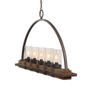 Atwood, 5 LT Island Light Fixture - taylor ray decor