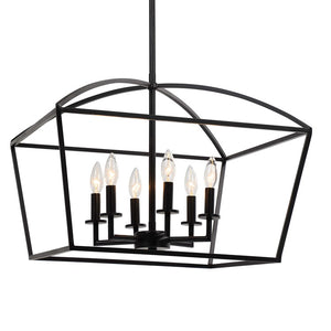 Clayton Industrial 6 LT Pendant - taylor ray decor