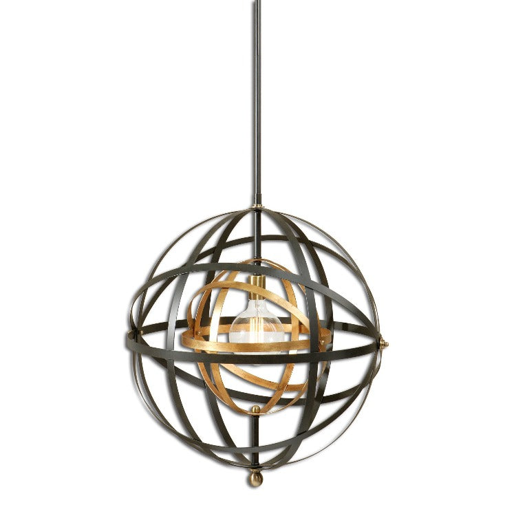 Rondure 1 Light Sphere Pendant - taylor ray decor
