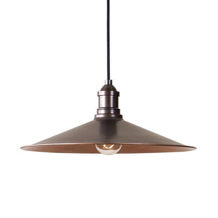 Barnstead 1 Light Copper Pendant - taylor ray decor