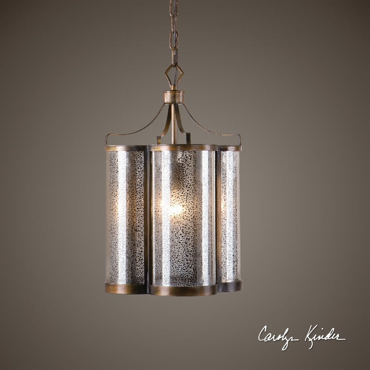 Croydon 1 Light Mercury Glass Pendant - taylor ray decor