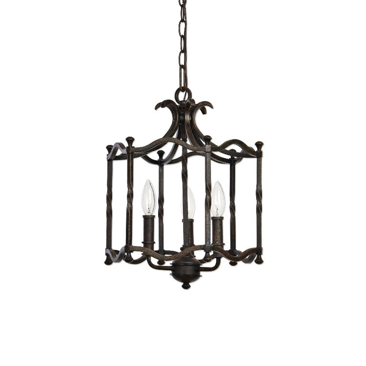 Candela Old World 3 Light Pendant - taylor ray decor