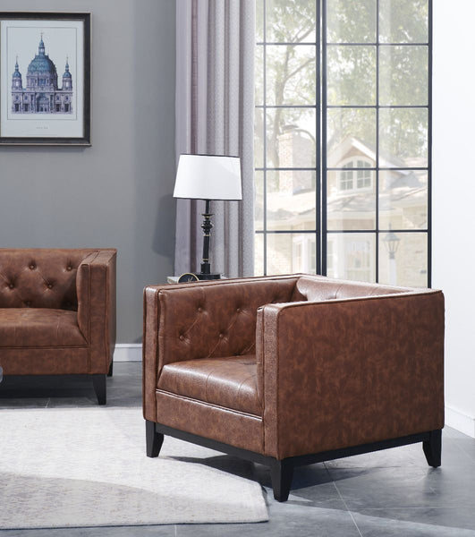 Cadman Leather Armchair