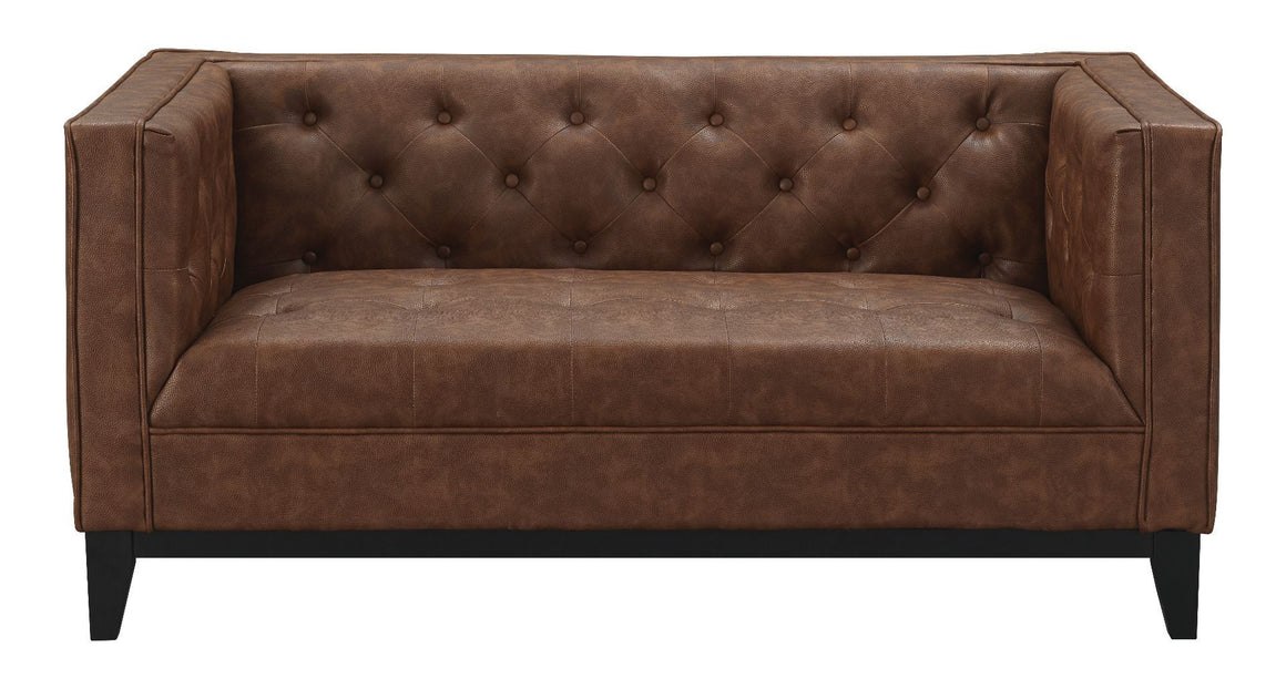 Cadman Leather Loveseat