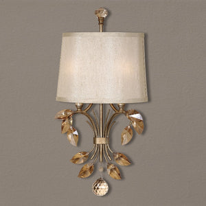 Alenya 2 Light Gold Wall Sconce - taylor ray decor