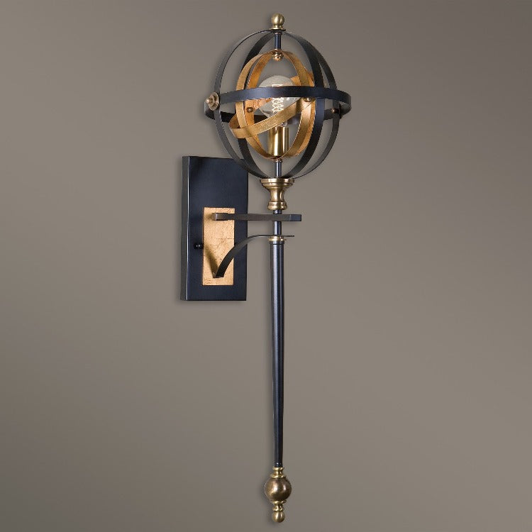 Rondure 1 Light Oil Rubbed Bronze Sconce - taylor ray decor
