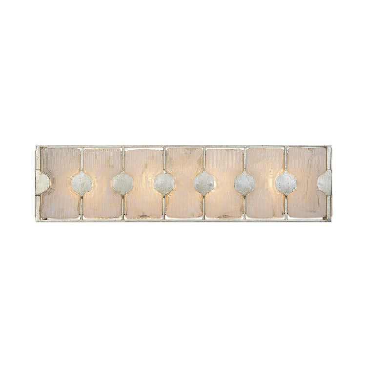 Rene 4 Light Swirl Glass Vanity - taylor ray decor