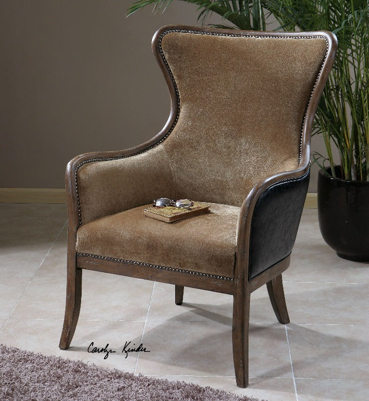 Snowden Traditional Wing Chair