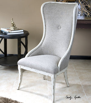 Selam Aged Wing Chair - taylor ray decor