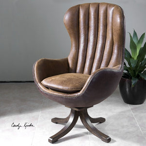 Garrett Mid-century Swivel Chair - taylor ray decor