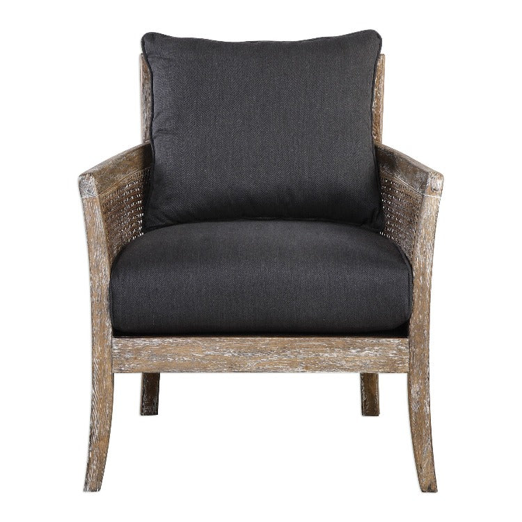 Encore Dark Gray Armchair - taylor ray decor