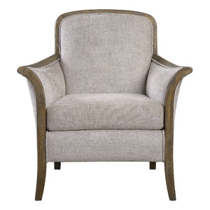 Brittoney Taupe Armchair - taylor ray decor