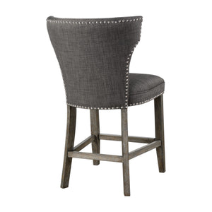 Arnaud Charcoal Counter Stool - taylor ray decor
