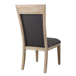 Encore Dark Gray Armless Chair