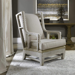 Schafer Linen Armchair - taylor ray decor