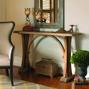 Genessis Reclaimed Wood Console Table - taylor ray decor