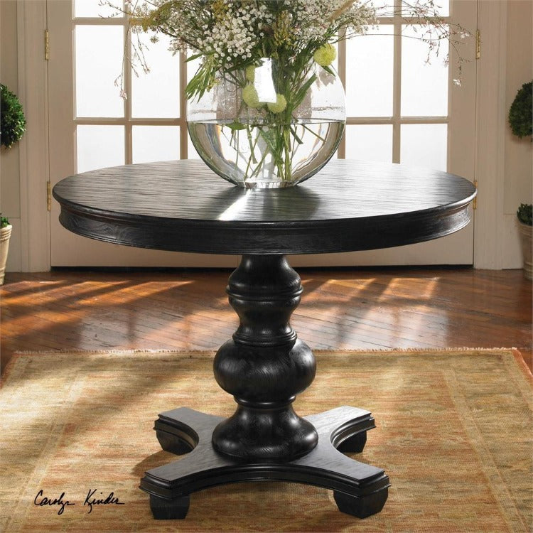 Brynmore Wood Grain Round Table