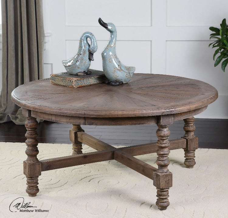 Samuelle Wooden Coffee Table - taylor ray decor