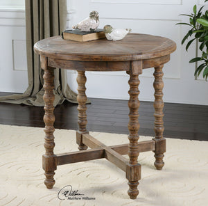 Samuelle Wooden End Table - taylor ray decor